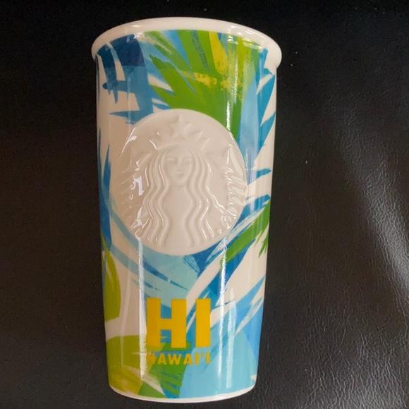 Starbucks Hawaii Ceramic Mug New